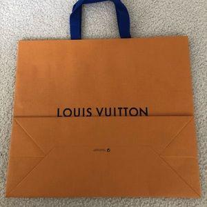 Louis Vuitton  gift Bag...mint condition